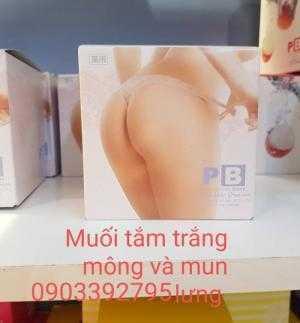 Muối Trị THâm Nách & Mông -Trị thâm mụn lưng
