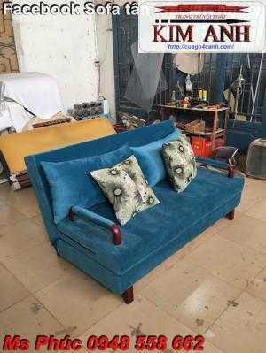 Bằng việc sử dụng chiếc sofa giường gỗ đa năng, bạn sẽ tiết kệm được tiền mua 2 bộ nội thất