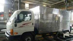 Xe tải Hyundai 2.5 tấn N250, thùng kín inox mới 100%, 2018
