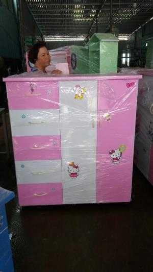 Tủ Nhựa Đài Loan 2 Buồng 5 Ngăn