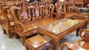 Bộ Bàn Ghế Hoa Lá Tây Tay 12 Giá Rẻ Tại Nội Thất Sơn Đông