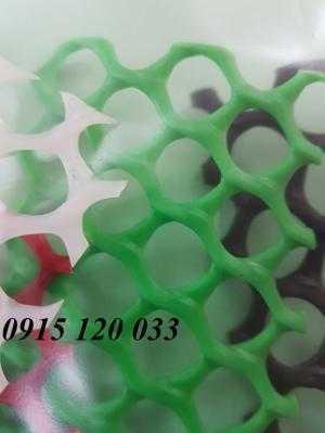 Lưới nhựa cứng làm sàn lót quây gia cầm