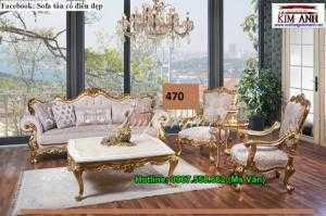Mẫu Ghế Sofa Cổ Điển Châu Âu Siêu Đẹp Giao Hàng Toàn Quốc