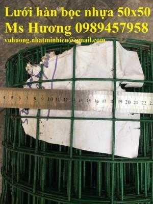 Nơi bán lưới hàn bọc nhựa, lưới mạ kẽm phi 2, phi 3 ô 10x10, 12x12, 20x20, 50x50, 50x100 hàng mới 100%