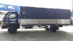 Báo giá xe tải Hyundai 120SL 8,1 tấn. Thùng mui bạt 6m2