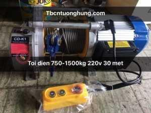 Tời điện kcd 750/1500 kg đa năng