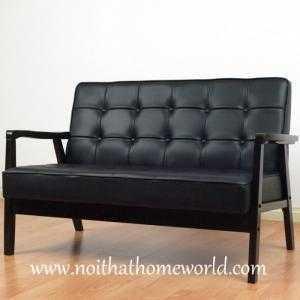 Sofa 2 chỗ ngồi HW106- Ghế bọc simili- Hàng xuất khẩu nhật- Nội thất Homeworld