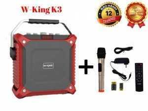 Loa Kéo Bluetooth 60W W-King K3 Âm Thanh Cực Hay + Tặng Kèm Mic