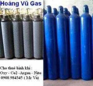 Cho thuê bình khí Nitơ tại TpHCM – Bình Dương - Long An - Tây Ninh