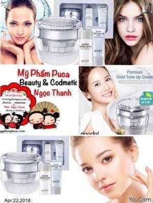 Kem Ốc Sên Goodal - Goodal Premium Snail Tone Up Cream 50mil [Chính Hãng ]