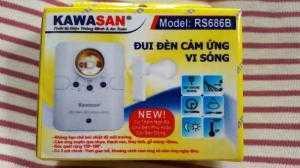 Đui đèn cảm ứng vi sóng chính hãng Kawasan...