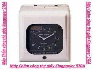 Máy chấm công thẻ giấy Kingpower 970A
