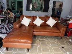 Sofa 100% Da Bò - Xưởng sản xuất sofa giá rẻ