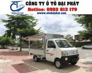 Xe tải thùng cánh dơi Dongben 790kg - Xe bán hàng lưu động 790Kg