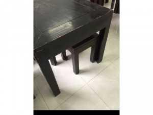 Bán 6 bộ bàn ghế ( 6 bàn 24 ghế) 100% gỗ tốt, bền và rất chắc chắn!