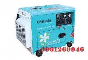Phân phối máy phát điện Oshima OS 6500 (công suất 5kva, đề nổ, chạy dầu) giá tốt nhất