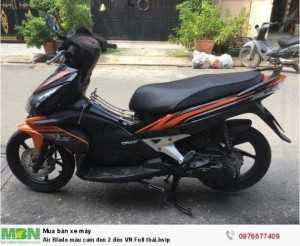Air Blade Honda màu cam đen 2 đèn VN Full...