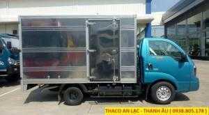 Xe tải K250 tải trọng 2,49 và 1,49 tấn lưu thông sài gòn, bán trả góp, hỗ trợ 80% giá trị xe.