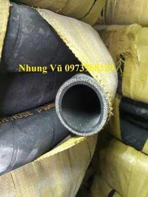Báo giá ống cao su bố vải công Doanh Hùng Mạnh Phi 120 - ống cao su lõi thép D120