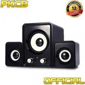 Loa Vi tính Bass Điện thoại, Laptop, Tivi Loa 3 loa PKCB-2N
