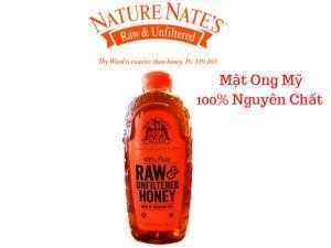 Mật Ong Mỹ Thiên Nhiên 100% Nature Nate's 100% Pure RAW Honey 1,3 lít - MSN181343