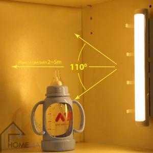 Đèn tủ quần áo cảm ứng chuyển động kiêm móc treo HSL-1407W