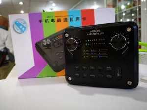 Sound Card HF-6000 Auto Tune Pro Nhiều Hiệu Ứng Âm Thanh