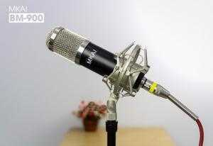 Mic Thu Âm BM-900 MKAI Live Stream Karaoke