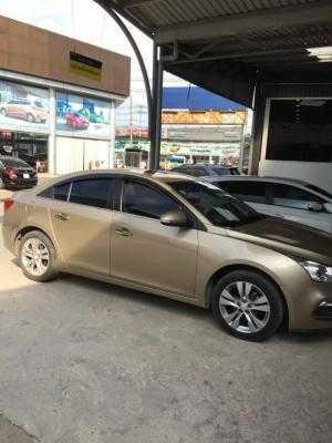 Bán Chevrolet Cruze LTZ 1.8AT màu vàng cát số tự động sản xuất 2016 biển Sài Gòn mẫu mới