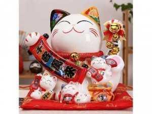 MÈO THẦN TÀI - Mèo may mắn Maneki Neko