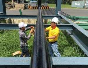 Vật liệu bảo vệ chống ăn mòn cho ống Kim loại chôn ngầm