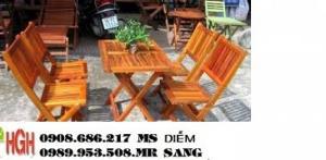 Ghế gỗ cafe giá rẻ hghv2