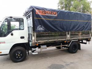 Xe tải Isuzu 1 tấn 9, thùng mui bạt, trả trước 100 triệu, nhận xe ngay