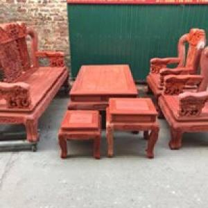 Bộ bàn ghế minh quốc voi gỗ hương nam phi tay...