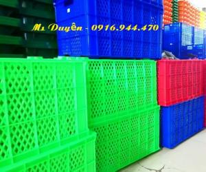 Sóng nhựa hở 5 bánh xe - HS 0199