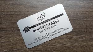 Danh thiếp mã code- name card mã code