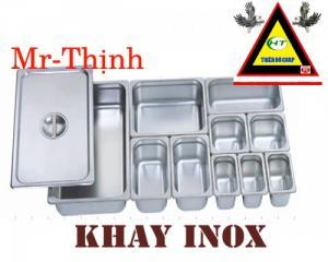 khay inox đựng  thạch trà sữa, khay inox đựng trái cây tư chọn, khay inox đựng thực phẩm.
