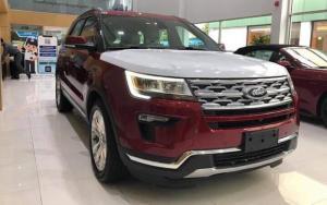 Bán Ford Explorer nhập Mỹ, đủ màu, trả góp 80% toàn quốc, ls 0.6%/ tháng cố định 3 năm