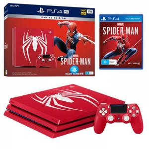 PS4 Pro Spider Man Bundle USA