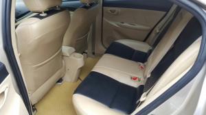 Bán Toyota VIOS E 1.5AT màu vàng cát số tự động sản xuất 2017 biển Sài Gòn
