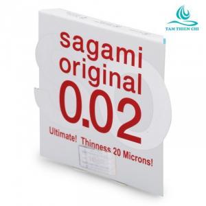 Bao Cao Su Sagami Original 0.02 (Hộp 1 Chiếc )