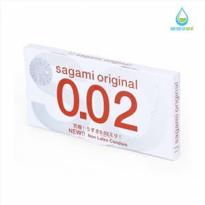 Bao Cao Su Sagami Original 0.02 (Hộp 2 Cái)