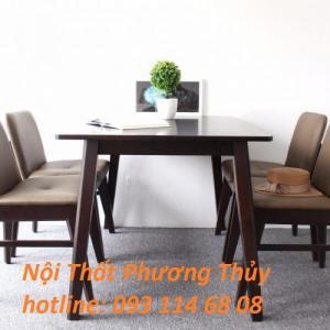 Bộ bàn ghế gỗ cafe kudoobama TDP04