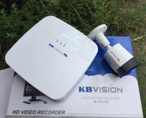 Bộ 2 Camera Quan sát Hồng Ngoại KBVision HD 1.0MP
