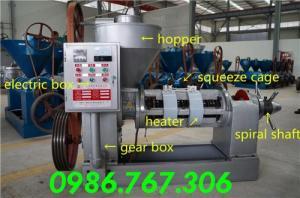 Máy ép dầu lạc giá rẻ tại Nam Định,máy ép dầu YZYX10J-2WK giá rẻ.