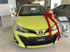 Khuyến Mãi Toyota Yaris 1.5 2018 Màu Vàng...
