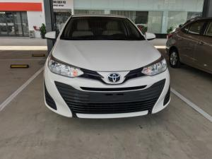 Khuyến mãi giá tốt Toyota Vios 2019 1.5E AT - Màu Trắng – Trả trước 130tr nhận xe
