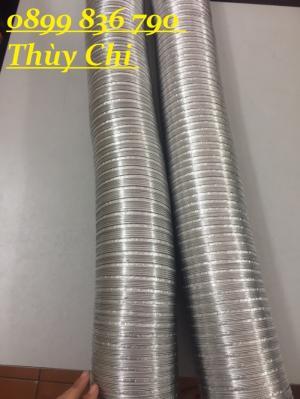Ống nhôm bán cứng hút khí nóng ,chịu nhiệt D100 ,200,300