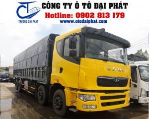 XE TẢI THÙNG CAMC 4 CHÂN MÁY YUCHAI ĐỜI 2015...