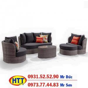 Bàn ghế sofa phòng khách đẹp giá rẻ HTt57